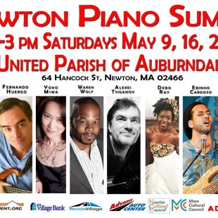 Newton Piano Summit ONLINE every Saturday 4pm