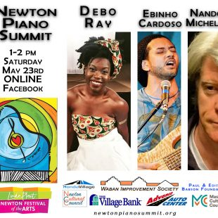 May 23rd 1 pm Debo Ray and Nando Michelin & Ebinho Cardoso – Newton Piano Summit ONLINE