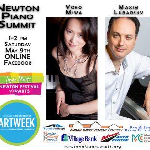 Yoko Miwa & Maxim Lubarsky – Newton Piano Summit ONLINE