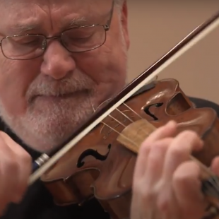 "Aston Magna – Daniel Stepner performs J.S. Bach""s Ciaccona for solo violin"