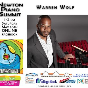 Warren Wolf Online May 16th 1pm – Newton Piano Summit